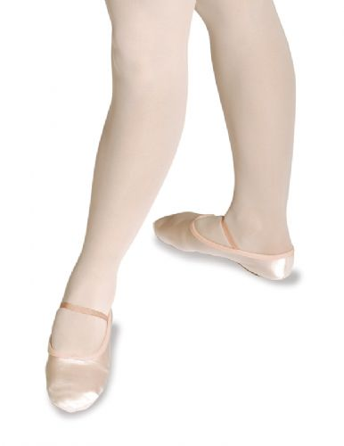 Roch Valley SS/S WHITE Split sole satin ballet shoes